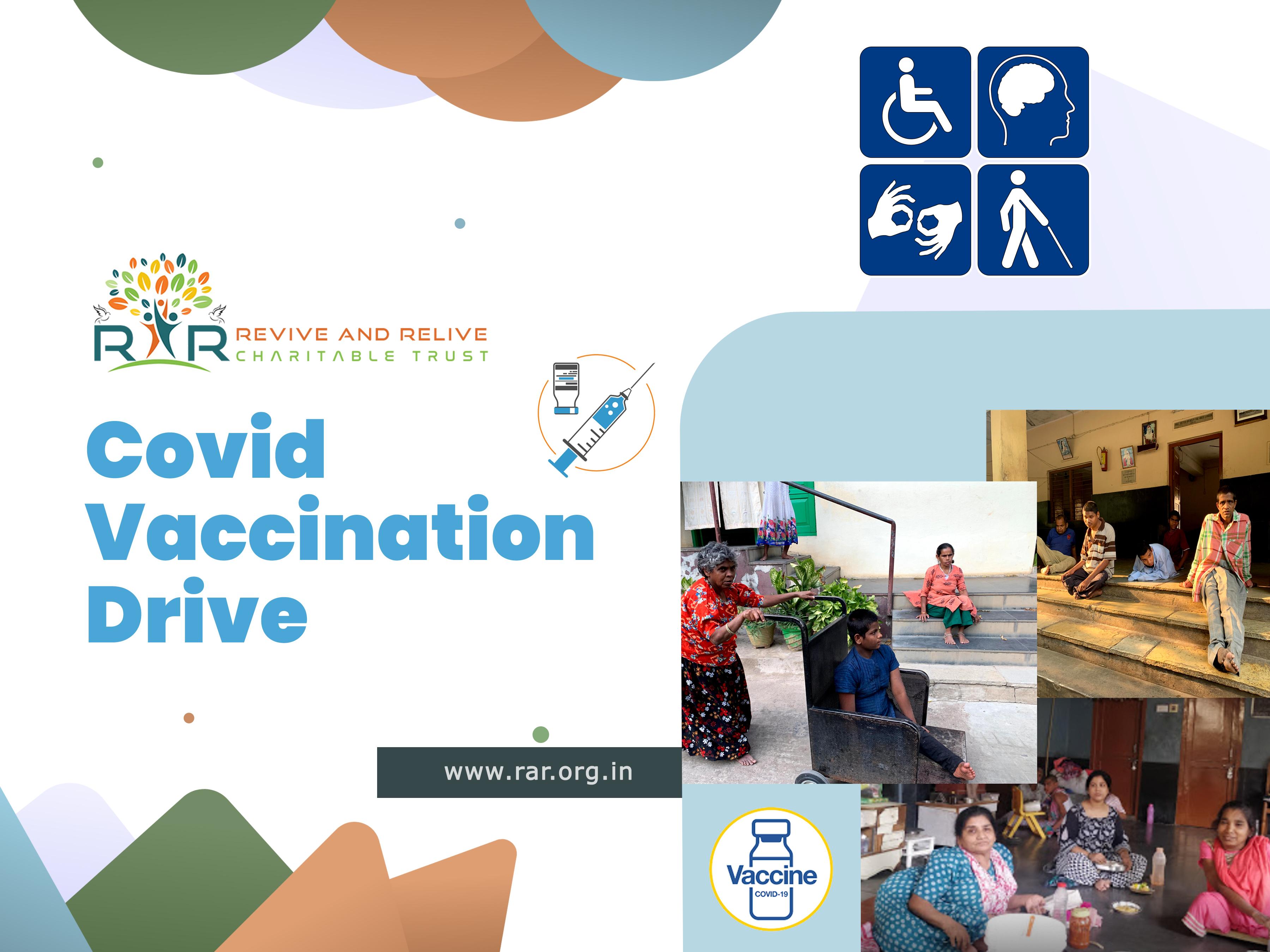 Covid Vaccination, Hyderabad - RAR Charitable Trust