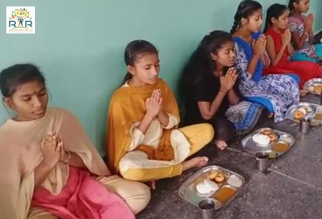 Food Sponsorship To An Orphanage - RAR Charitable Trust