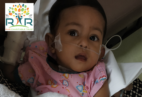 Fundraiser For Baby Samantha, a 10 Month Old's Heart Operation - RAR Charitable Trust