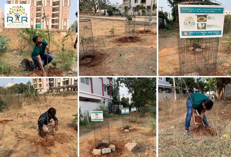 Tree Plantation in Hyderabad - RAR Charitable Trust
