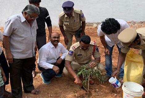 Tree Plantation in Colony - RAR Charitable Trust